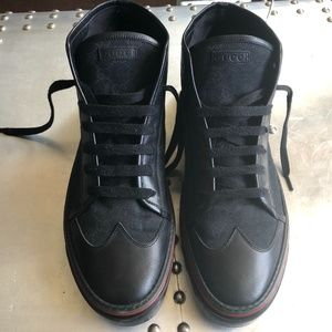 Gucci Supreme Canvas Leather SNEAKER - SHOES